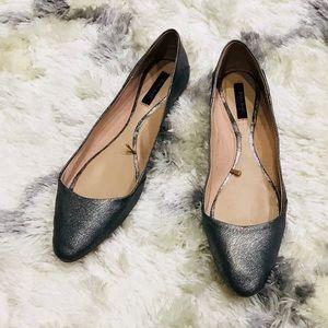 Zara Basic Collection Gray Flats
